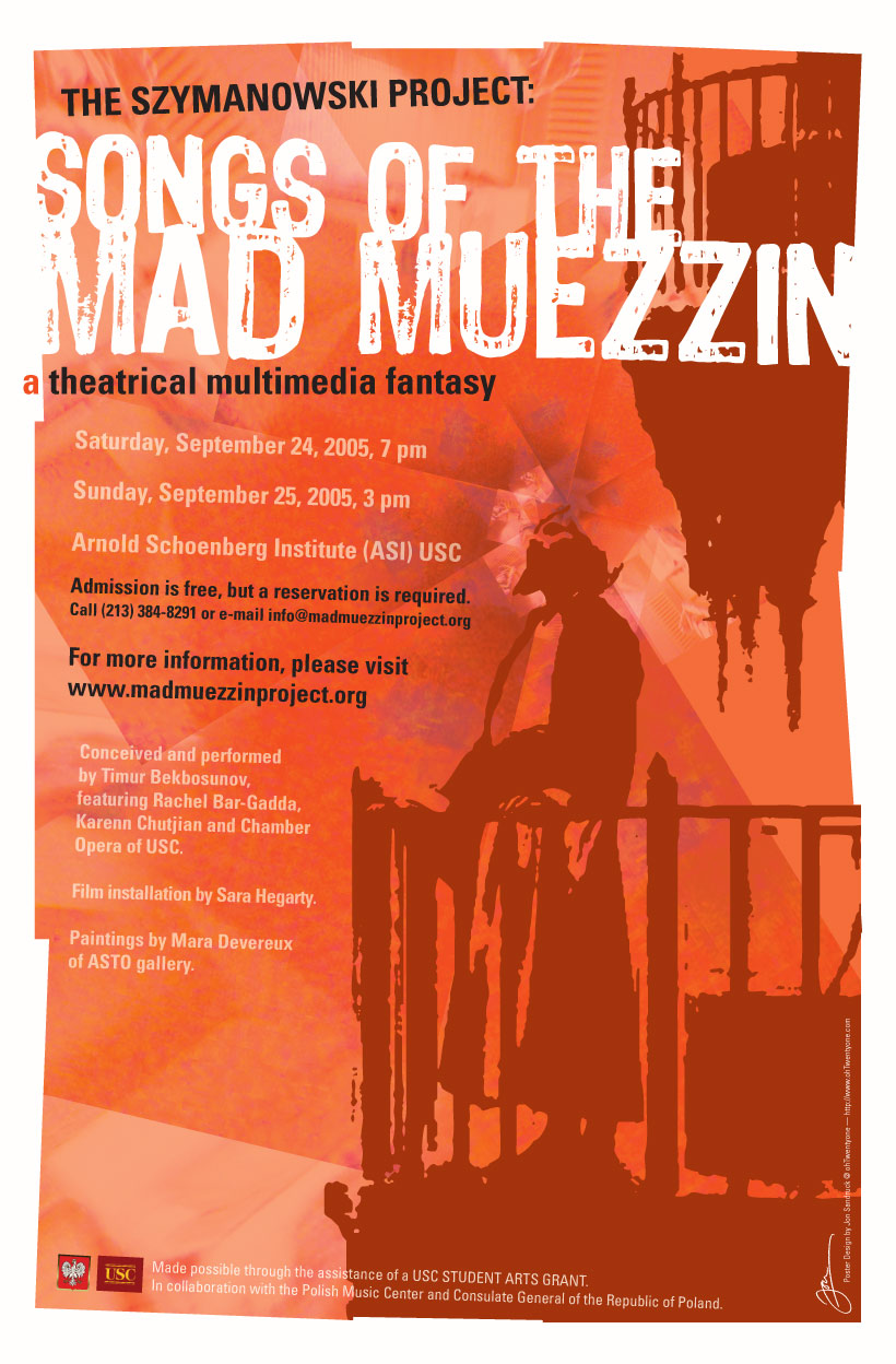 poster for Songs of the Mad Muezzin (219k image)